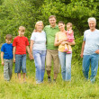 Nice family portrait — Stock Photo #7008514