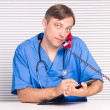 Doctor in office — Stock Photo #7009951