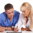 Doctor and nurse — Stock Photo #7173900
