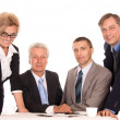 Clever team portrait — Stock Photo