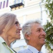 Royalty-Free Stock Photo: Old couple nice  portrait