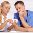 Doctors at table — Stock Photo #7186975