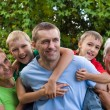 Family of a five — Stock Photo #7187508