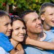 Nice family outside — Stock Photo #7255006
