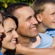 Nice family outside — Stock Photo #7256499