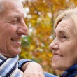 Cute old couple — Foto de Stock