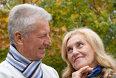 Nice old couple — Photo