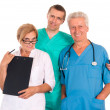 Three doctors portrait — Stockfoto