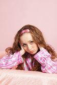 Retrato de la muchacha para adultos — Foto de Stock
