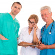Royalty-Free Stock Photo: Three adult doctors