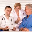 Doctor and citizens — Stock Photo #7379579