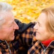 Lovely old couple — Stockfoto