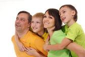 Portrait de famille assez — Photo