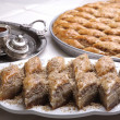 Coffee and Baklava — Stock Photo