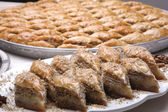 Multi layered Baklava — Stock Photo