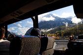 Podróż autobusem — Zdjęcie stockowe