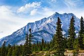 каскад горный — Стоковое фото