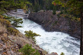 Bow falls — Stock Photo