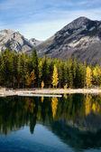 Lake Minnewanka — Stock Photo