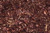 Fertilizer mulch — Stock Photo