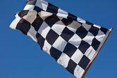 Bandeira quadriculadas — Foto Stock