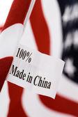 中国制造的 — 图库照片