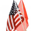 China and USA Flag — Stock Photo #7430654