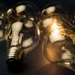 Bright Light Bulb — Stockfoto #7450095
