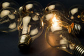 Bright Light Bulb — Foto de Stock