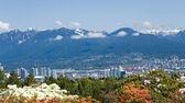 城市温哥华 — 图库照片