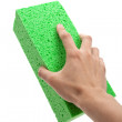 Green Sponge — Stock Photo #7466681