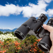 Stock Photo: Binoculars