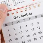 Calendar and Keyboard — Stock Photo