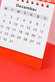Calendar December — Stock Photo