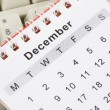 Stock Photo: Calendar and Keyboard