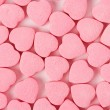 Pink Heart Shape Candy — Stock Photo