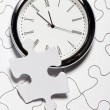 Time Puzzle — Stock Photo #7583830