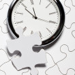 Time Puzzle — Stock Photo
