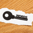 Keywords — Stock Photo #7632398