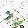 Dollar Puzzle — Stock Photo #7634258