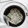 Stock Photo: money laundry&quot