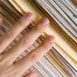 Stock Photo: File Stack