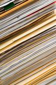 Zásobníku souborů — Stock fotografie