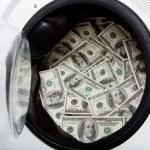 Money laundry — Stock Photo