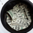 money laundry&quot — Stock Photo