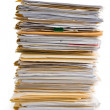 File Stack — Stock Photo