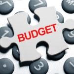 rozpočet — Stock fotografie