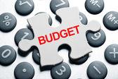 Budget — 图库照片