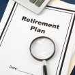 Foto Stock: Retirement Plan