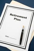 Retirement Plan — Photo